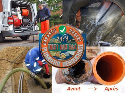 Plomberie curage et nettoyage des canalisations
