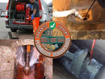 Plomberie débouchage canalisation égouts
